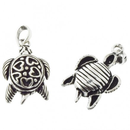 925 Sterling Silver Simply Silver Oxidized Pendant