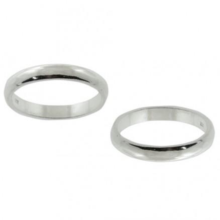 925 Sterling Silver Rotating Band Ring