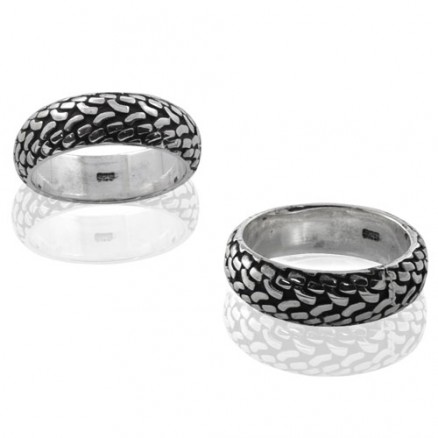 925 Sterling Silver New Celtic Spinning Ring